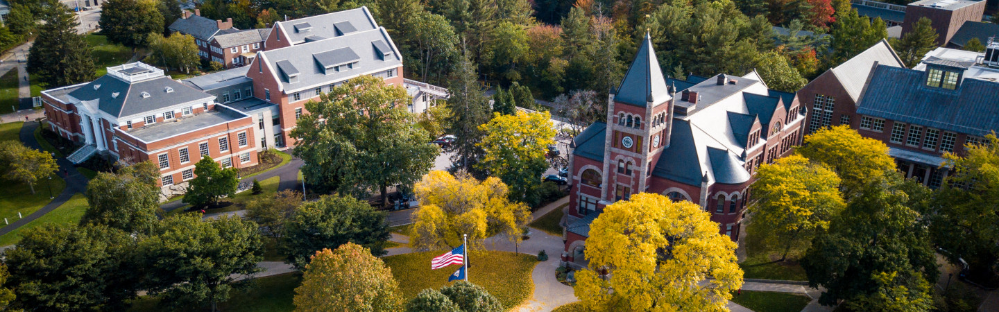 Thompson Hall View from above