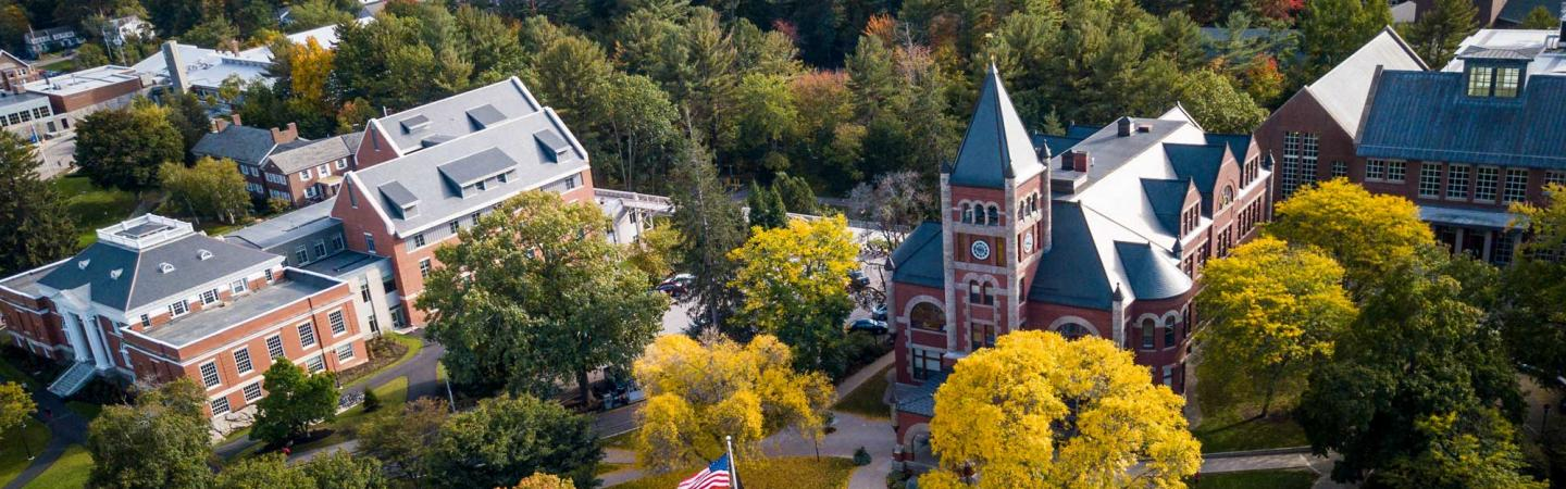 UNH Campus from Drone